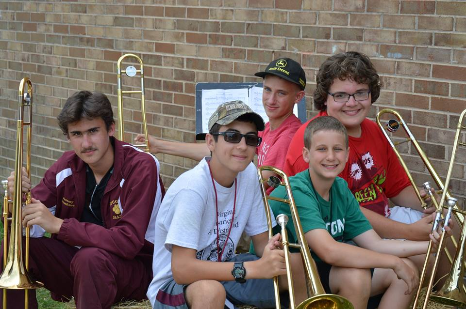 PCHS T-bones, 2014. L-R: Jeremy, Lakin, Gaze, Alex, and James. Photo by Stacey Utt.