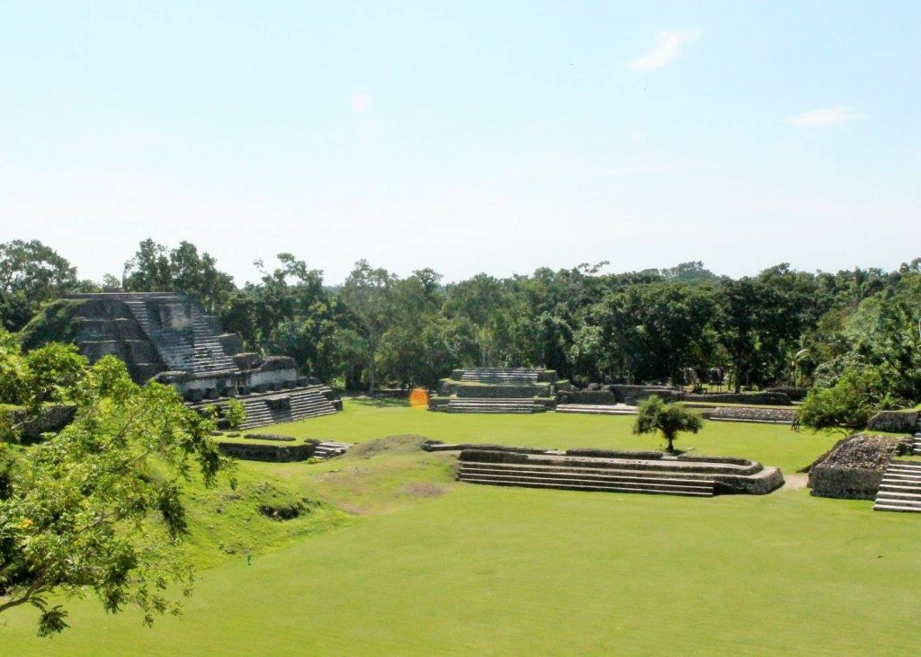 Altun Ha plaza. Photo by The CEO.